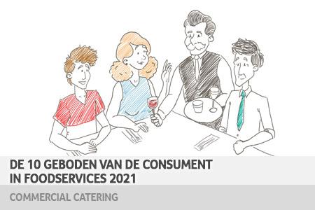 10 geboden van de consument in foodservices 2021 – commercial catering