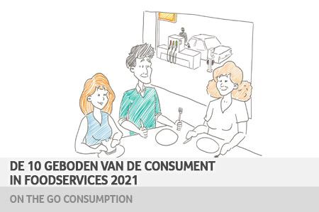 10 geboden van de consument in foodservices 2021- On the go consumption