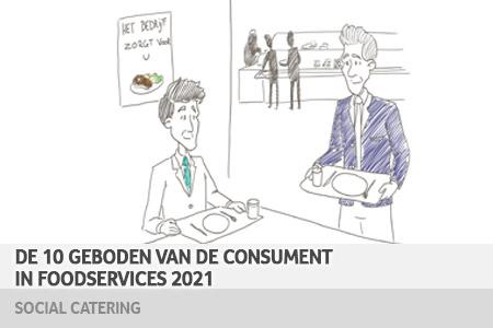 10 geboden van de consument in foodservices 2021 – social catering